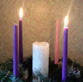 how to make an advent christmas wreath the meaning of an. Black Bedroom Furniture Sets. Home Design Ideas