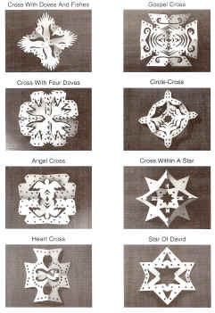 BARNES & NOBLE | Chrismon Snowflake Ornaments: 32 Christ-Filled
