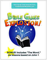 Bible games for children and youth ministry