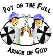 Armor of God Bible Lesson and Game, Teach Children about ...